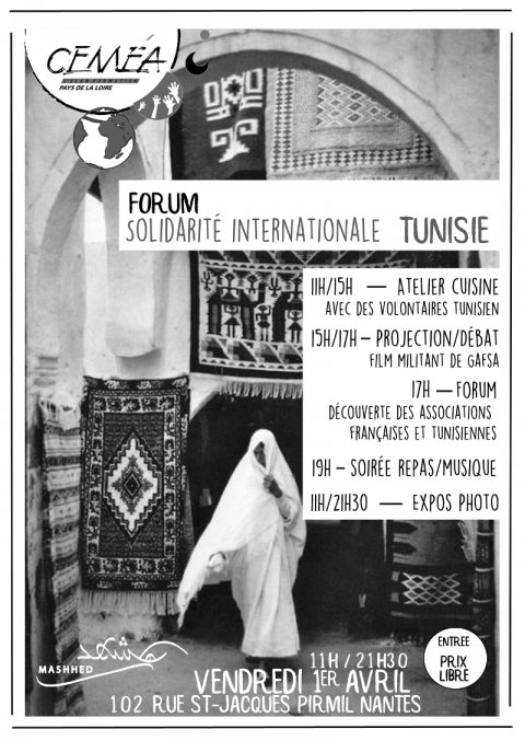 Forum solidarité internationale Tunisie